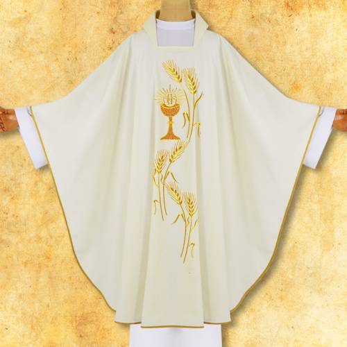 """CHASUBLE """"Calice et JHS"""""""
