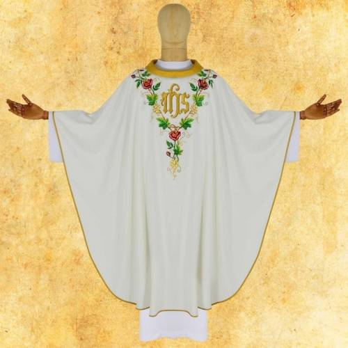 "CHASUBLE ""Roses"""