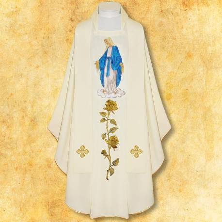 "Chasuble "" La Vierge Marie"
