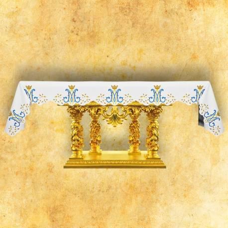 Nappe d'autel Mater Dei