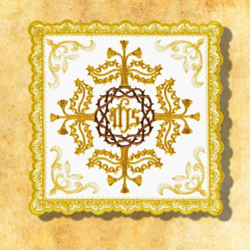 """Linge d'autel """" Gold"""" 11"""