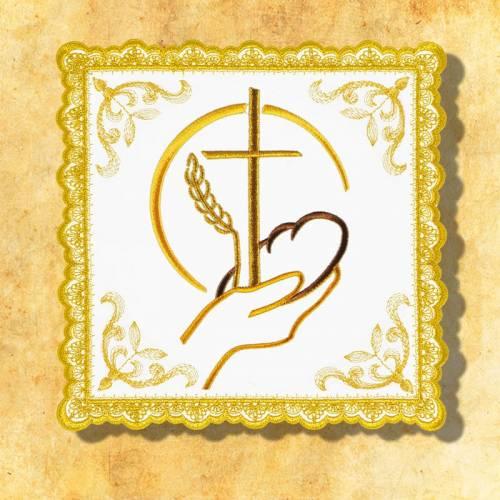 """Linge d'autel """" Gold"""" 12"""