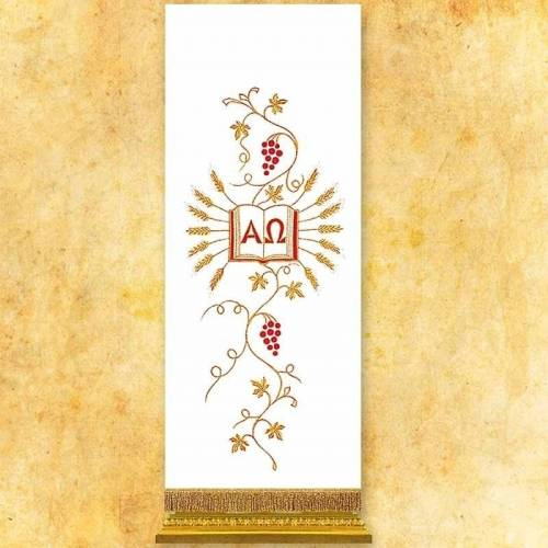 Voile de lutrin Alfa & Omega