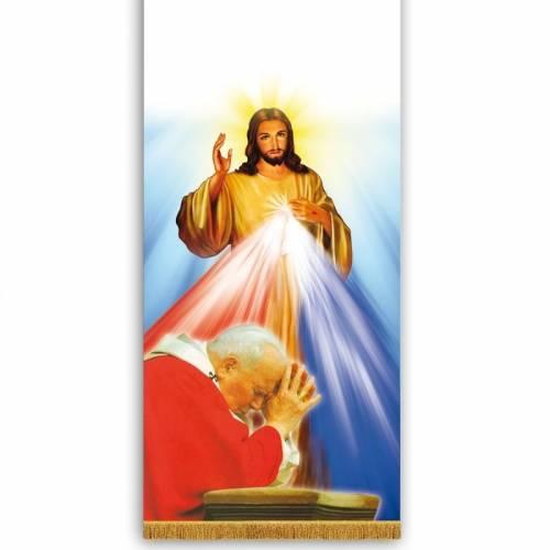 "Voile de lutrin ""Jean Paul II"""