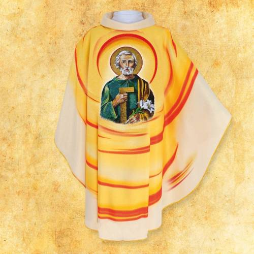 Chasuble avec photo Jesus