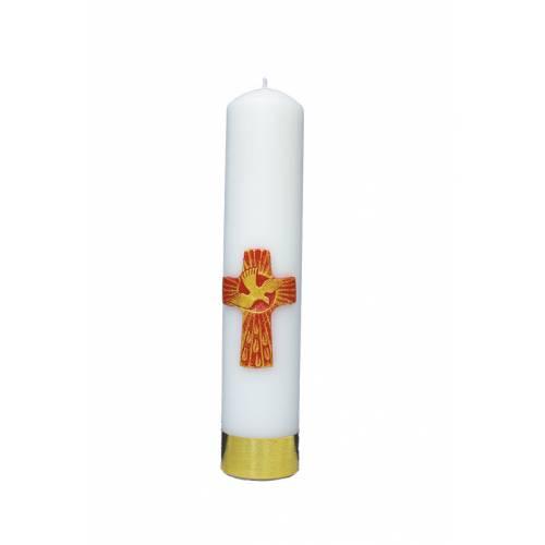 """Cierge d'autel """"Saint Esprit"""""""