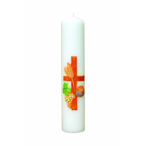 """Cierge d'autel """"La Croix"""""""