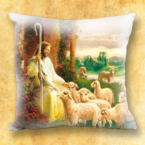 Le coussin avec motif religieux - Jesus Christ