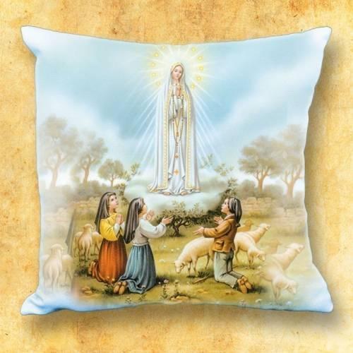 Le coussin avec motif religieux - ND Fatima