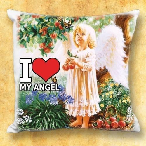 Le coussin avec motif - My Angel