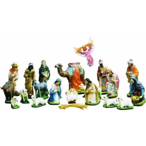 Creche - 21 figurines vers 30 cm hauteur