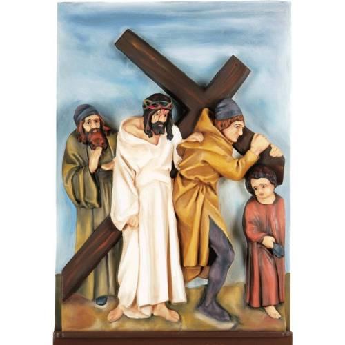 Chemin de Croix - dans le cadre -ensemble