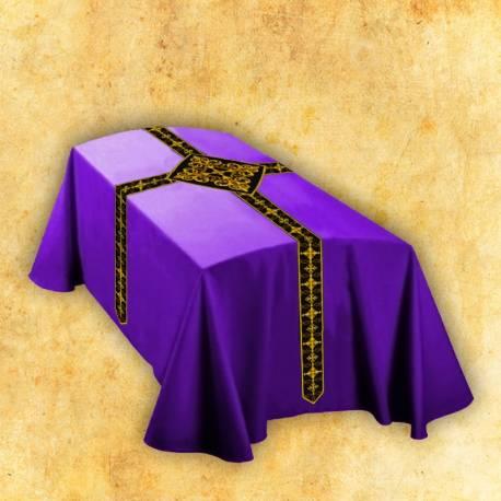 Le drap mortuaire - violet