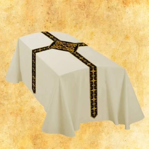 Le drap mortuaire - blanc