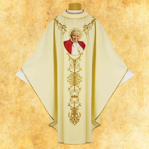 Chasuble Jean Paul II
