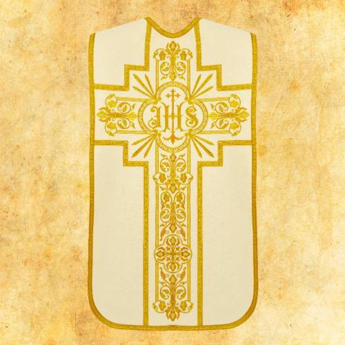 """Chasuble romaine """"Sacralis"""" - complet"""