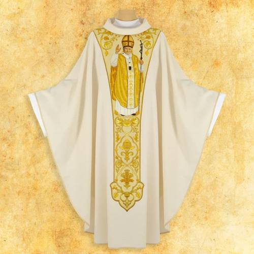 "Chasuble ""Jean Paul II"""