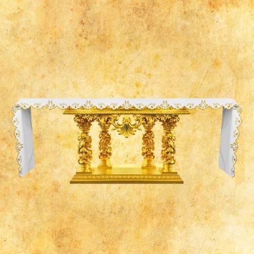 """Nappe d'autel """"Série d'or"""" 6"""