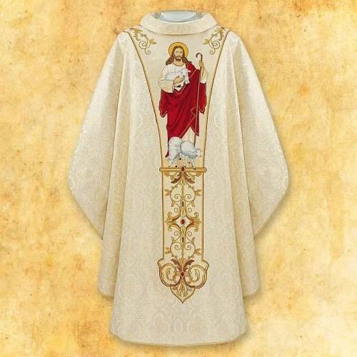 """Chasuble """"Jésus est ressuscité"""""""