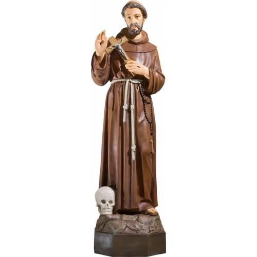 Statue Saint François avec les pigeons - 50 cm