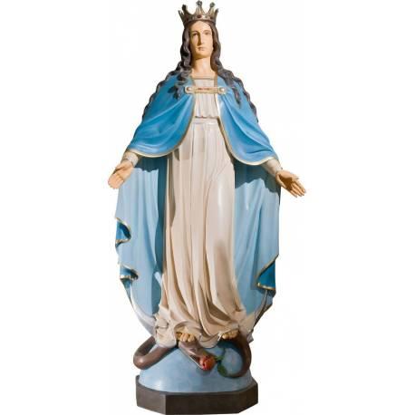 Statue Vierge Marie avec Jésus - 52 cm
