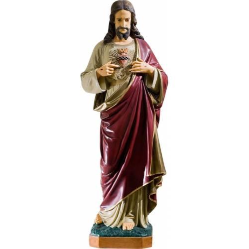 Statue Jesus Christ Cœur - 55 cm