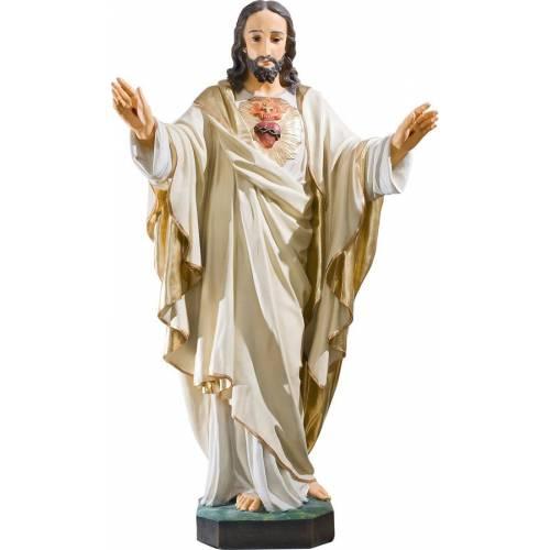 Statue Jésus Christ Cœur - 105 cm
