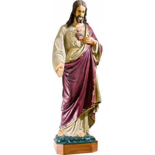 Statue Jésus Christ Sacre Cœur -120 cm