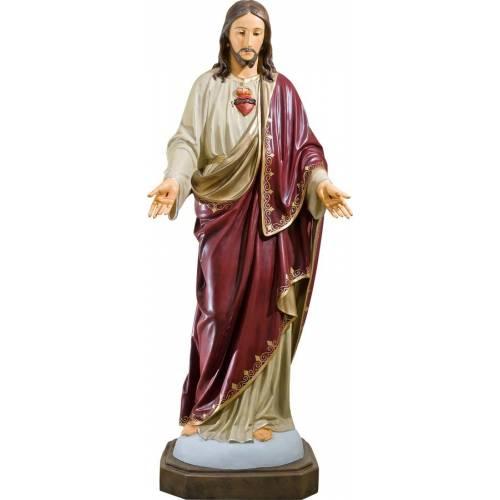 Statue Jesus Christ Sacre Cœur - 165 cm