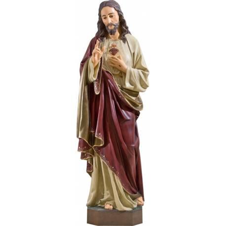Statue Jesus Christ Sacre Cœur - 170 cm