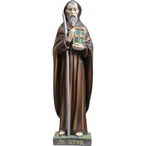 Statue Saint Cyrille - 30cm