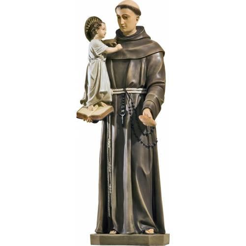 Statue Saint Antoine avec Pain - 78 cm