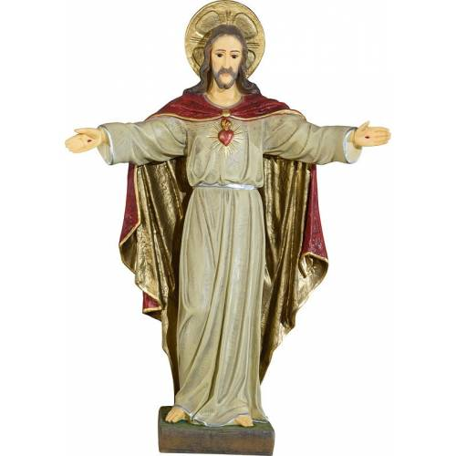 STATUE CŒUR JESUS CHRIST - 56 cm