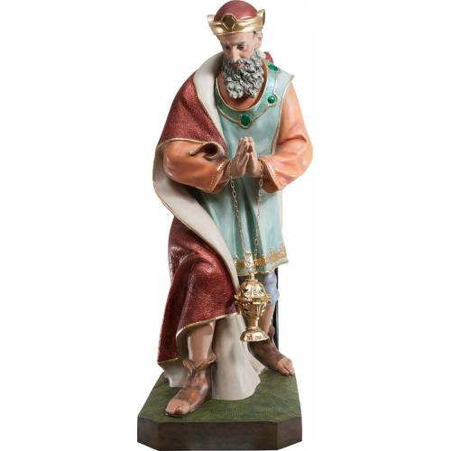 Statue Roi avec de l'encens - 146 cm