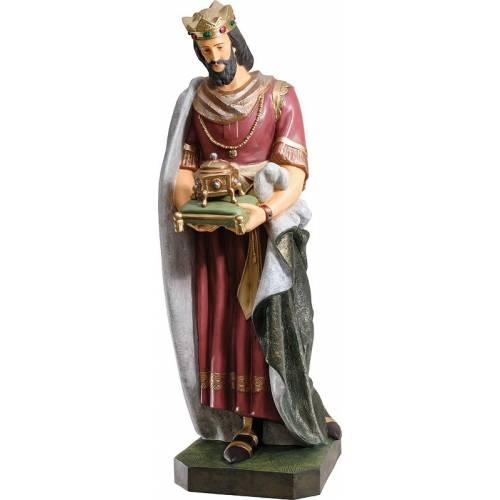 Statue Roi avec myrrhe - 165 cm