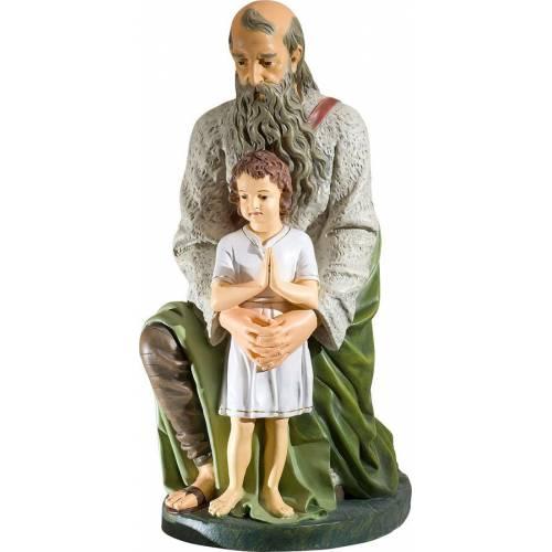 Le berger avec enfant - 50 cm