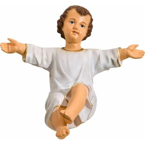 Enfant Jésus a la crèche - 56 cm