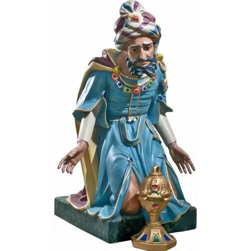 Statue Roi avec de l'encens - 81 cm