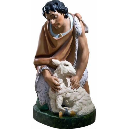 Berger avec agneau 81 cm