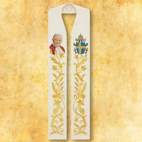 Etole brodée Jean Paul II